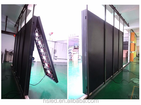 PH4 IndoorFull Color Former maintenance led cabinet/Front Service LED screen/front service Indoor led sign