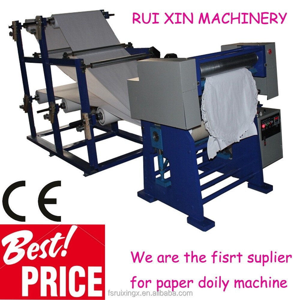 machine embossed paper for making small business at home