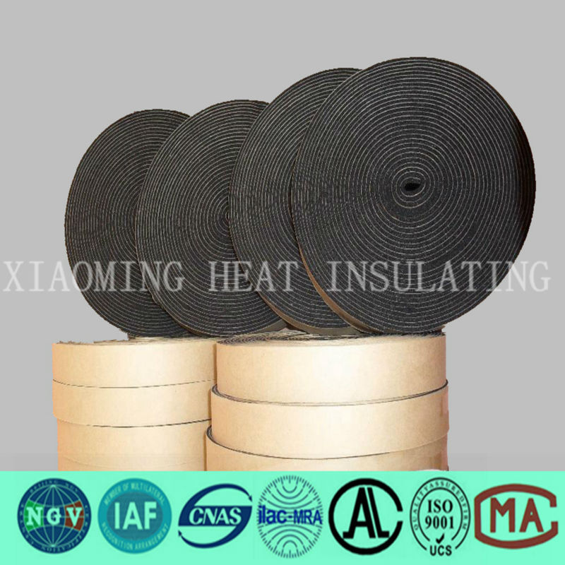 China manufactured heat insulation rubber foam tape