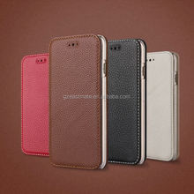 Hot Selling light up case for iphone 5c Genuine Leather