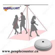 Evidenziare HPC008 wireless people counter con alta precisione di conteggio elettronico per la catena centro di trasporto
