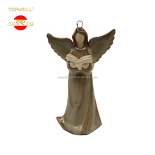 Hot Sale Ceramic Home Decoration Sculptures Angel Girl