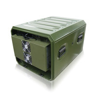 Defender Series - Aluminum Air Conditioned Rack Case