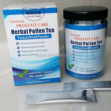 BPH Function and Herbal Extract Wholesale Bee Pollen Penis Care Tea for penis strong high quality hot selling