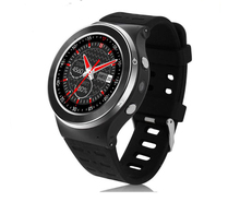 Orignal Sport Round Smart Watch 3G Wifi GPS 2MP Camera With Speaker Microphone Smartwatch MTK6580 Electronic Watch