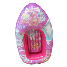 phthalate-free PVC Customized small plastic baby boat