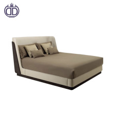 Latest hot sale high quality bed designer furniture simple modern round bed designs luxury bedroom furniture king size bed