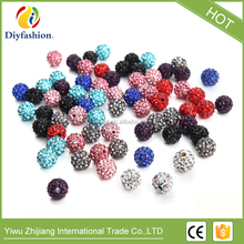 2017 hot selling fashion shamballa beads