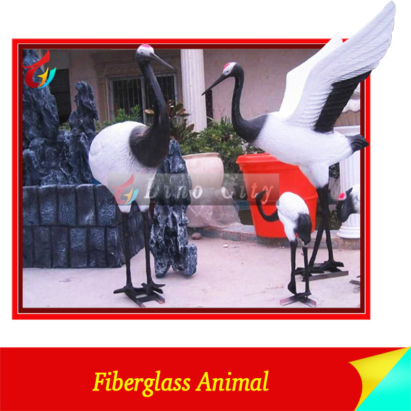 High lifelike Fiberglass Bird Model