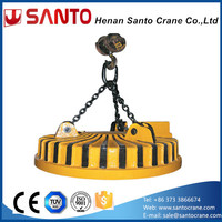 Custom electromagnet lifting magnet electric permanent disc rotary magnetic chuck