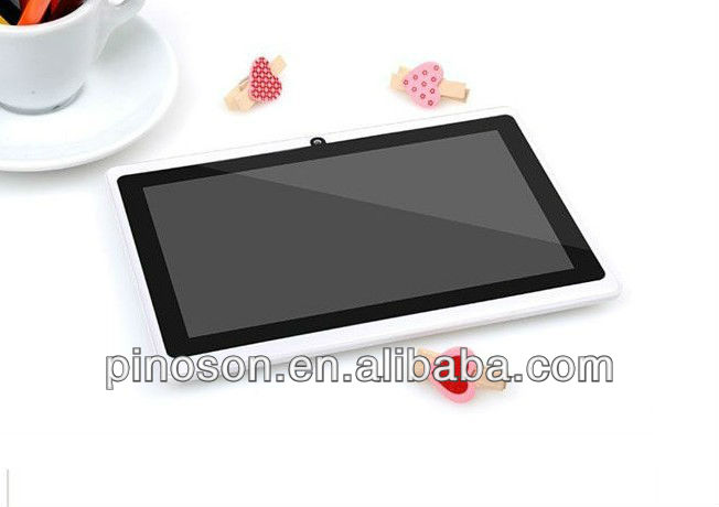 Tablet pc Android 4.0 mid 7 inch Capacitive screen Allwinner A13 Q88