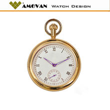 High quality brass pocket watch