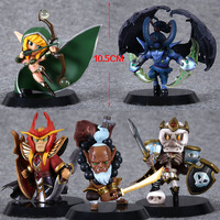 Hot Sale Dota 2 pvc delicate figure 5pces/set