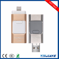 Factory price 8GB 16GB 32GB 64GB OTG USB Flash Drive For ipod/iphone/ipad/pc/android phone