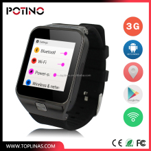 New android 4.4 bluetooth phone 3G smart watch water proof T99