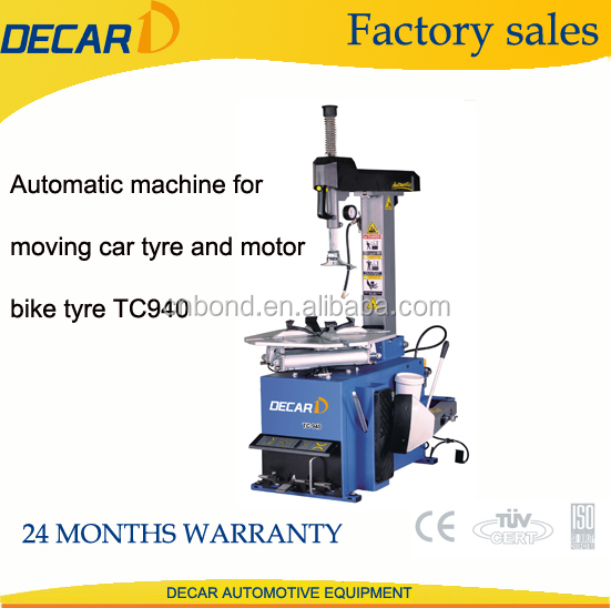 TC940 autmoatic tyre changer tire mending
