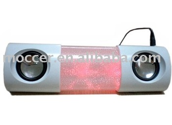 Colorful flashing speaker,Multimedia speaker,Mini portable speaker
