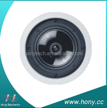 2 Way Coaxial size 8 inch wireless ceiling speaker with crossover/background sound/Bluetooth