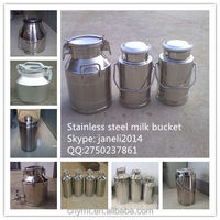 Stainless Steel Milk Bucket