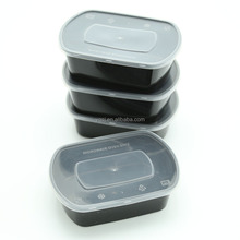 oval plastic disposable snack food container TIFFIN BOX