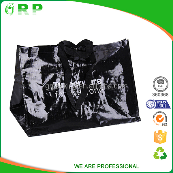 Fashion design promotion laminated pouches and bags