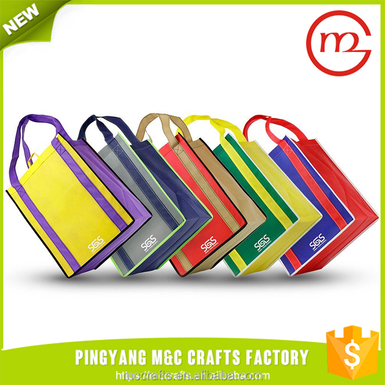 Multi Color Fashion High Quality Pretty Foldable Polyester Shopping Bag