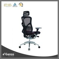 rolling computer chair high end mid back executive mesh chair