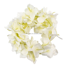 Wholesales Cream Strings Silk Wisteria Flowers Wedding Garden Decor Garland