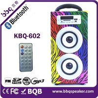 BBQ small speaker with FM radio/USB&TF jack
