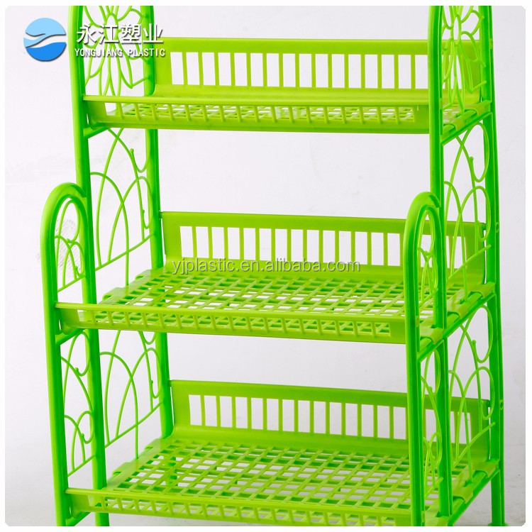 wholesale acrylic dish rack 2 tier dish rack with tray with tray wall mounted iron kitchen drying dish rack
