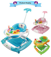 Activity Center Good Price Plastic Music Toys Baby Walker Pink Car