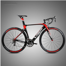 Ultra-light racing high-profile carbon fiber 20-speed road bike