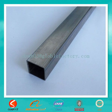 2015 Furniture black annealed carbon steel one inch square steel tubing