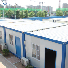 Customized Steel Prefab 20ft Luxury Container Prefabricated House Movable Houses for Sale