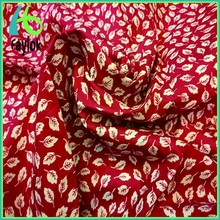 floral fabric printed textile poplin 100% cotton
