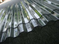 SGS, ISO clear corrugated plastic roofing sheet