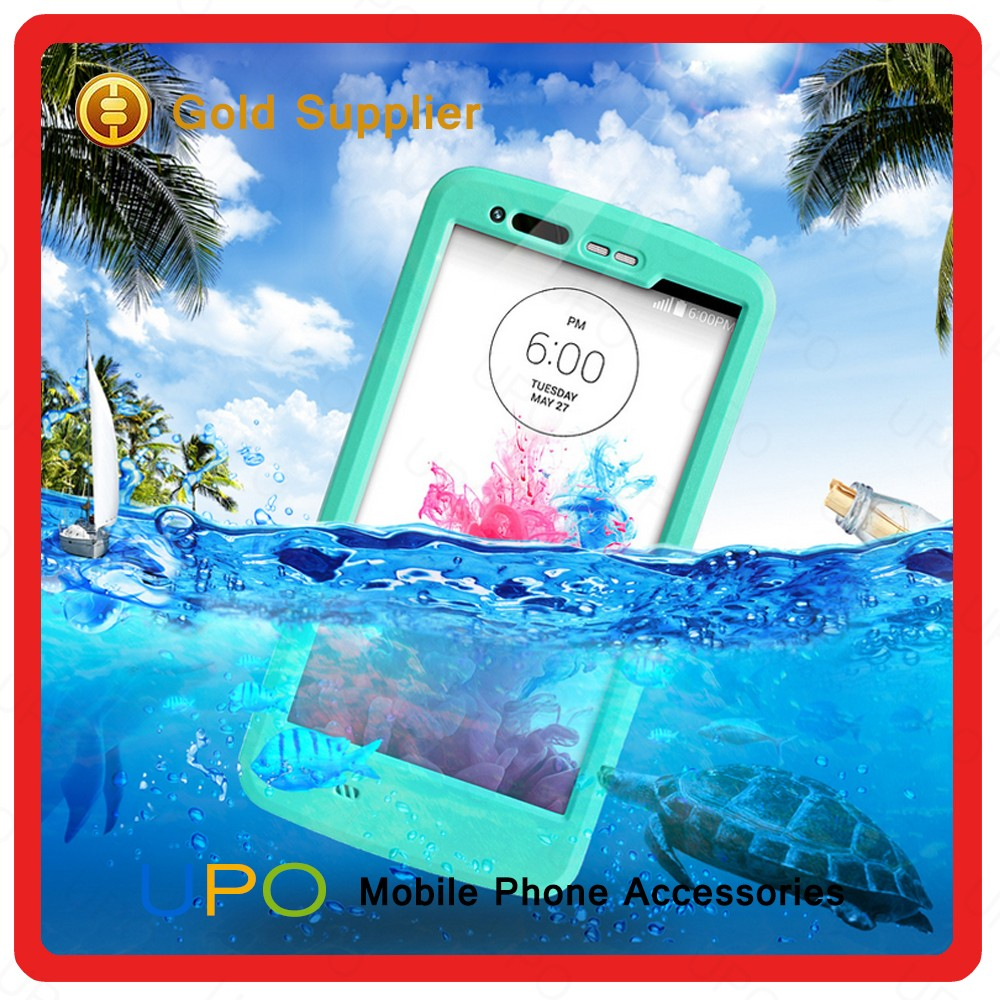 [UPO] 2016 Hot Selling Waterproof Shockproof Dustproof Cell Phone Case for LG G3