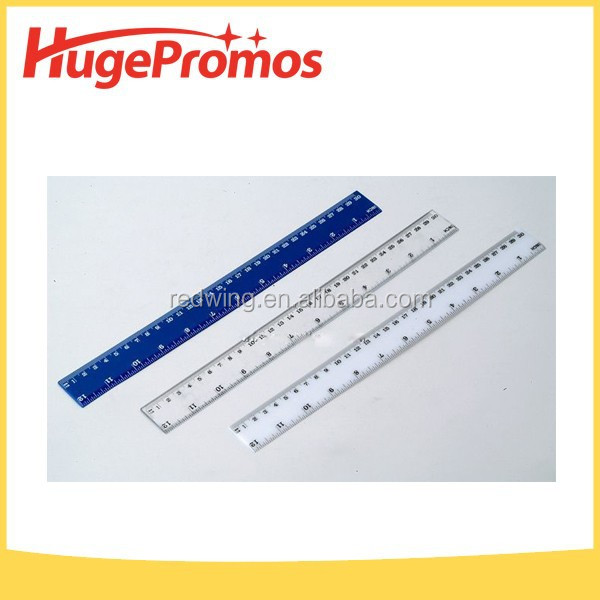 Popular 8 inch Plastic Ruler with Manifier