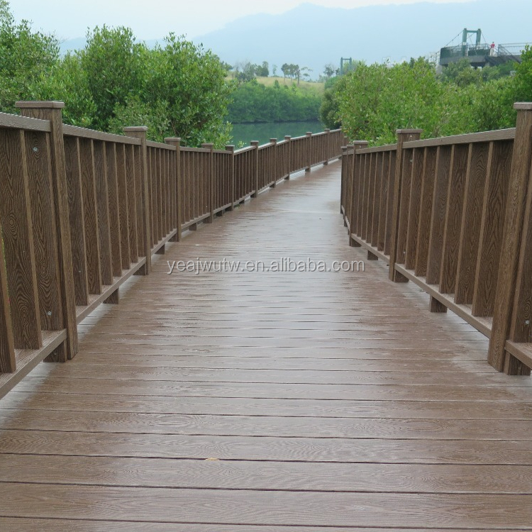 High Quality better WPC anti slip waterproof Outdoor decking board