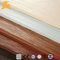 For Outside Wall Fire Rated Non-asbestos Cellulose Wood Grain Fiber Cement Board