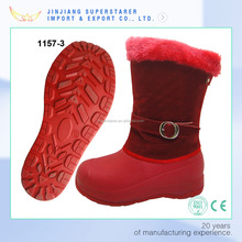Warm thermal eva snow boot women winter boot with fur