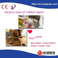 TPU rubber band production line