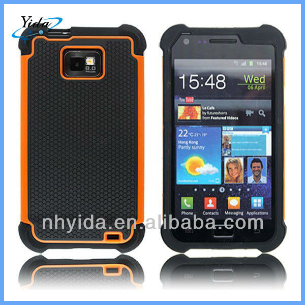 New Design Mobile Phone Case For Samsung Galaxy I9100 Hard Rugged Case