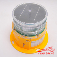 Solar Powered Obstruction /Aviation Light with LED