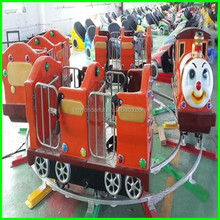 children playground entertainment manufactures electric train tourist kids track train