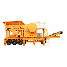 CE certification mobile mini stone crusher plant for sale