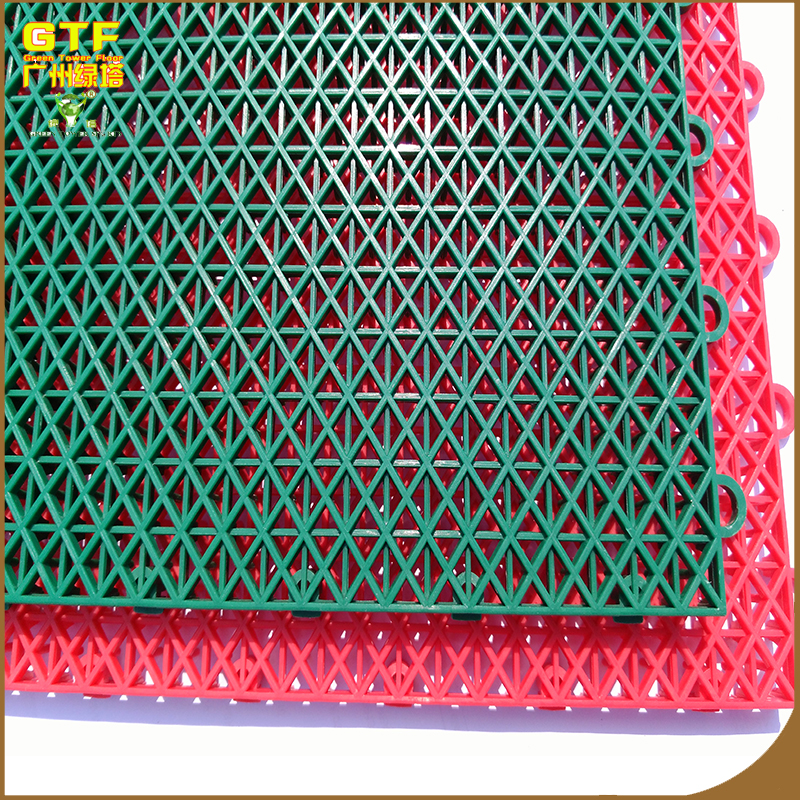 PP interlocking basketball sports floor/outdoor plastic flooring tiles