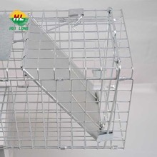 Live Animal welded mesh rat trap cage 32inch X 12inch X 12inch Catch Release Humane Rodent Cage for Rabbits