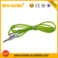 High Quality hot sale Moulded 3.5mm jack AUX audio cable car mp3 interface with usb sd aux audiophones 3.5mm adapter