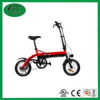 Mini Folding Li-battery 14 Inches Electric Bike